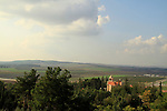 Israel, Shephelah, the Trappist Monastery in Latrun overlooking Ayalon valley
