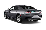 Car pictures of rear three quarter view of a 2015 Dodge Charger SE FWD 4 Door Sedan Angular Rear