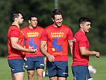 Seleccion española de Rugby en el CAR de Sant Cugat - 27 Septiembre 2017
