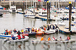 ROWERS: The Ballyheigue rowers on Saturday morning took on the callange to row from Fenit to Ballyheigue with the support ..................