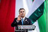 Wahlkampf Viktor Orban in Budapest 2014