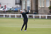 4th October 2017, The Old Course, St Andrews, Scotland; Alfred Dunhill Links Championship, practice round; Rory McIlroy, of Northern Ireland, hits a shot from the fairway on the first hole on the Old Course, St Andrews during a practice round before the Alfred Dunhill Links Championship
