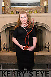 """Kerry School of Music """"Musician of the Year"""" award winner Orla O'Connor from Fenit pictured in the Malton Hotel, Killarney last Sunday night."""