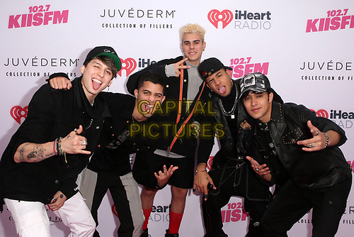 CARSON, CA - June 1: Michael Clifford, Calum Hood, Ashton Irwin, and Luke Hemmings of 5 Seconds of Summer, at 2019 iHeartRadio Wango Tango Presented By The JUVÉDERM® Collection Of Dermal Fillers at Dignity Health Sports Park in Carson, California on June 1, 2019.   <br /> CAP/MPI/SAD<br /> ©SAD/MPI/Capital Pictures