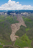 Mudslide in Mesa County, Colorado