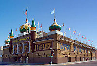 The Corn Palace in Mitchell South Dakota