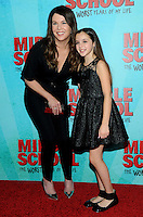 NEW YORK, NY - OCTOBER 01:  Lauren Graham and Alexa Nisenson  attends the New York Screening of Middle School: The Worst Years of My Life at Regal E-Walk on October 1, 2016 in New York City. Photo Credit: John Palmer/MediaPunch