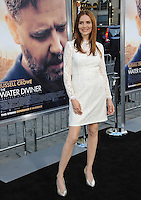 Saffron Burrows at the Los Angeles premiere of &quot;The Water Diviner&quot; at the TCL Chinese Theatre, Hollywood.<br /> April 16, 2015  Los Angeles, CA<br /> Picture: Paul Smith / Featureflash
