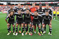 Washington, D.C.- March 29, 2014. D.C. United Team Photo.  D.C. United defeated the New England Revolution 2-0 during a Major League Soccer Match for the 2014 season at RFK Stadium.
