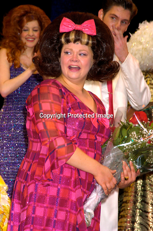 Kathy Brier ..at the Last Performance of Harvey Fierstein and Kathy Brier ..in Hairspray on May 2, 2004 at the Neil Simon Theatre...Photo by Robin Platzer, Twin Images
