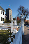 First Church in Salem, Massachusetts USA. Built in 1836, this church was designed by Solomon Willard.