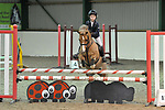 Class 5. Unaffiliated showjumping extravaganza. Brook Farm Training Centre. Essex. UK. 30/12/2018. ~ MANDATORY Credit Garry Bowden/Sportinpictures - NO UNAUTHORISED USE - 07837 394578