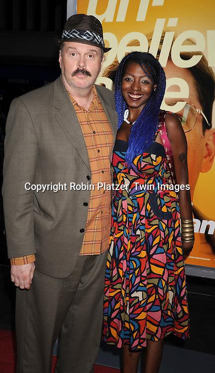 Rick Overton and Malika George