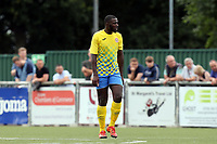 Oliver Gnandi of Harlow Town during Harlow Town vs Leyton Orient, Friendly Match Football at The Harlow Arena on 6th July 2019