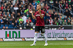 11.05.2019, HDI Arena, Hannover, GER, 1.FBL, Hannover 96 vs SC Freiburg<br /> <br /> DFL REGULATIONS PROHIBIT ANY USE OF PHOTOGRAPHS AS IMAGE SEQUENCES AND/OR QUASI-VIDEO.<br /> <br /> im Bild / picture shows<br /> Matthias Ostrzolek (Hannover 96 #22), <br /> <br /> Foto © nordphoto / Ewert