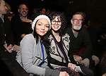 Katrina Lenk, Adina Verson and Tom Nelis with Cast of acclaimed Broadway-bound play 'Indecent' meet their Off-Broadway counterparts in 'God of Vengeance' at La Mama on January 10, 2017 in New York City.