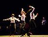London, UK. 18.02.2018. Dramatist Pedro G. Romero and flamenco dancers Ursula López, Tamara López and Leonor Leal present Painter and Flamenco: J.R.T. as part of the Flamenco Festival London 2018 at Sadler's Wells Theatre, 18 Feb. Photo shows: Leonor Leal, Tamara López, Úrsula López. Photo - © Foteini Christofilopoulou.