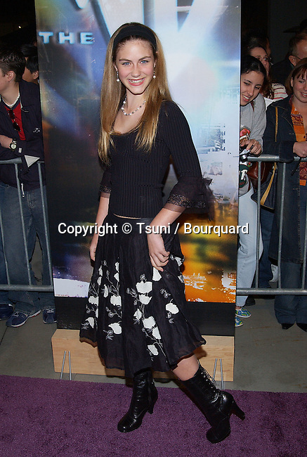 """Caitlin Wachs (Family Affair) arriving at """"The WB 2003 Winter TCA Tour Party"""" at Hollywood and Highland in Los Angeles, Ca. Saturday, Jan. 11, 2003"""