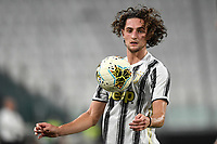 Adrien Rabiot of Juventus during the Serie A football match between Juventus FC and AS Roma at Juventus stadium in Turin (Italy), August 1st, 2020. Play resumes behind closed doors following the outbreak of the coronavirus disease. Photo Andrea Staccioli / Insidefoto