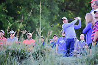 Jhonattan Vegas (VEN) watches his tee shot on 10 during round 2 of the Shell Houston Open, Golf Club of Houston, Houston, Texas, USA. 3/31/2017.<br /> Picture: Golffile | Ken Murray<br /> <br /> <br /> All photo usage must carry mandatory copyright credit (&copy; Golffile | Ken Murray)