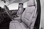 Front seat view of 2016 Chevrolet Silverado 1500 1WT Regular Cab Long Box 3 Door Pick-up Front Seat  car photos