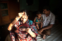 Illegal migrants from Bangladesh use both land and water borders to enter India in search of a better life. In many cases, Hindus in Bangladesh, due to religious riots, migrate to India to secure their belief and life. Rita Mitra belongs to the Hindu religion her relatives have already migrated to India illegally in search of safety and a better life.