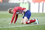 Atletico de Madrid's Fernando Torres dejected during La Liga match. April 23,2016. (ALTERPHOTOS/Acero)