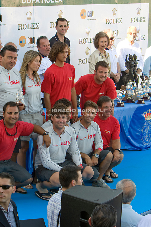 ESP7666 .TUVVIK XIV .JAVIER SERRANO .JOAQUIN IBAÑEZ LEGIDO .R.C.N. CASTELLON .GRAND SOLEIL 37 B .X TROFEO S.M. LA REINA - 10 to 13 July 2008 - Real Club Náutico de Valencia, Valencia, España/Spain