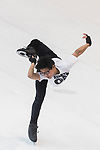 Muhammad Dwi Rizqy Apolianto of Indonesia warms up during a training section ahead Asian Open Figure Skating Trophy 2017 at Mega Ice on 02 August, 2017 in Hong Kong, China. Photo by Yu Chun Christopher Wong / Power Sport Images
