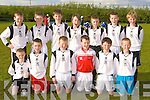 Ardfert/Kilmoyley soccer team that played in the Community Games finals in Mastergeeha last Friday evening front row l-r: Darragh Lowth, Maurice O'Connor, Eoin Kearney, Shane Benner, Eric Leen, Eoin McElligott. Back row: David McCarthy, Jack McCarthy, Jimmy Shanahan, Jesse Stafford-Lacey, Shane Lowth, Fionan MacKessy and Colm O'Sullivan