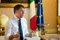 Matteo Renzi, Italian Prime Minister from 2014 until 2016, Rome, Italy