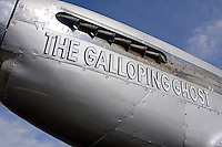 Unlimited Air Racer Galloping Ghost. The aircraft is owned and flown by Jimmy Leeward of Ocala, Florida.