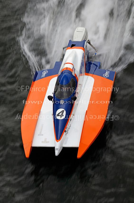 Kevin Ladd (#4) SST-45 class..Greater Cincinnati ChampBoat Grand Prix, Newport, KY July 17, 2005.Photo Credit: ©John Seago/FPWp 2005.ref:Digital Image Only