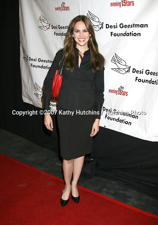 Natalia Livingston.4th Annual Evening With The Stars to benefit .the Desi Geestman Foundation.  .The Ivar - Façade.Los Angeles,   CA.October 7, 2007.©2007 Kathy Hutchins / Hutchins Photo...               .