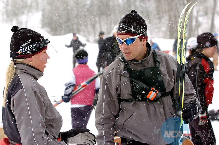 9 MAR 2006: during Classical Cross Country event at the 2006 NCAA Men and Women's Skiing Championships held at Howelsen Hill in Steamboat Springs, CO, hosted by the University of Colorado - Boulder. Brett Wilhelm/NCAA Photos