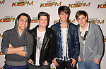 LOS ANGELES, CA - DECEMBER 03: Carlos Pena, Logan Henderson, James Maslow and Kendall Schmidt of 'Big Time Rush' attend 102.7 KIIS FM's Jingle Ball at the Nokia Theatre L.A. Live on December 3, 2011 in Los Angeles, California.