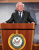 """United States Senator Bernie Sanders (Independent of Vermont) publicly apologizes to female staff members from his 2016 presidential campaign who have said they were sexually harassed by co-workers in the US Capitol in Washington, DC on Thursday, January 10, 2019. In his apology, Sanders thanked the women """"from the bottom of my heart for speaking out"""".  Earlier in the day it was reported that his former campaign manager in Iowa, Robert Becker, had been named in a $30,000 federal discrimination settlement with two former employees.<br /> Credit: Ron Sachs / CNP"""