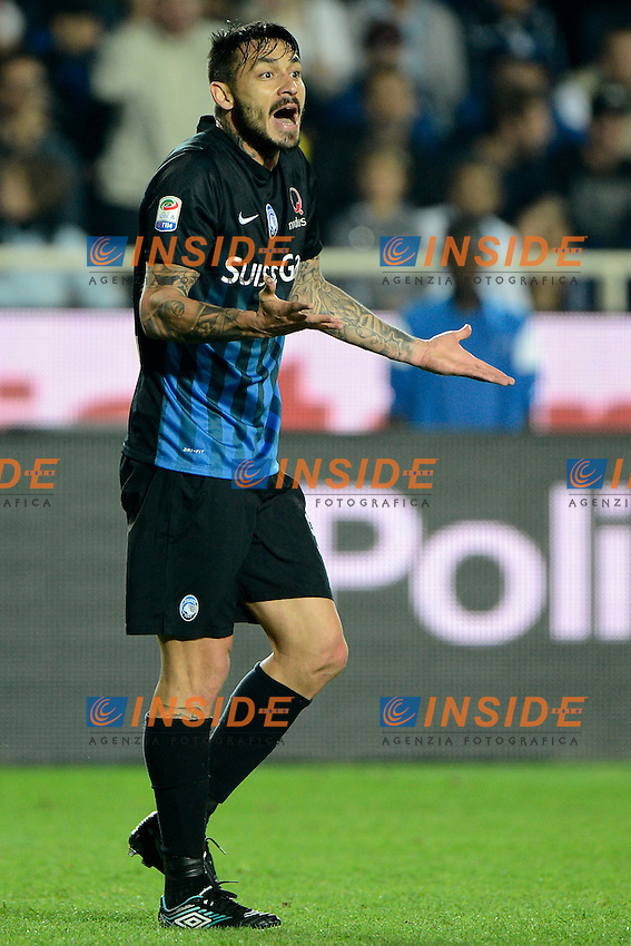 Mauricio Pinilla Atalanta<br /> Bergamo 21-09-2016 Stadio Ateleti Azzurri - Football Calcio Serie A Atalanta - Palermo. Foto Giuseppe Celeste / Insidefoto
