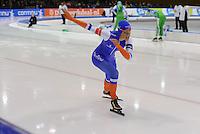 SCHAATSEN: HEERENVEEN: IJsstadion Thialf, 28-12-2015, KPN NK Afstanden, 500m Dames, Janine Smit, ©foto Martin de Jong