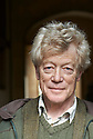 Roger Scruton, Philosopher and writer at Oxford Literary Festival  at Christchurch College, Oxford  2014 CREDIT Geraint Lewis