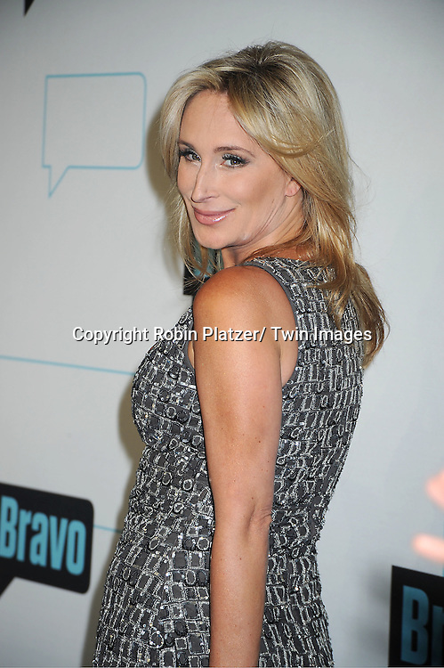 Sonja Morgan of Real Housewives of New York City attends the Bravo Upfront on April 4, 2012 at 548 West 22nd Street in New York City.