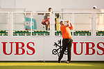 Justin Walters of South Africa tees off the first hole during the 58th UBS Hong Kong Open as part of the European Tour on 08 December 2016, at the Hong Kong Golf Club, Fanling, Hong Kong, China. Photo by Marcio Rodrigo Machado / Power Sport Images