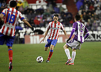 Juanfran during Real Valladolid V Atletico de Madrid match of La Liga 2012/13. 17/02/2012. Victor Blanco/Alterphotos /NortePhoto