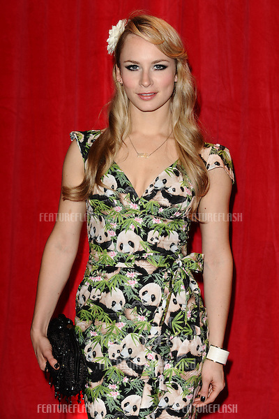 Holly Weston arriving for the 2014 British Soap Awards, at the Hackney Empire, London. 24/05/2014 Picture by: Steve Vas / Featureflash