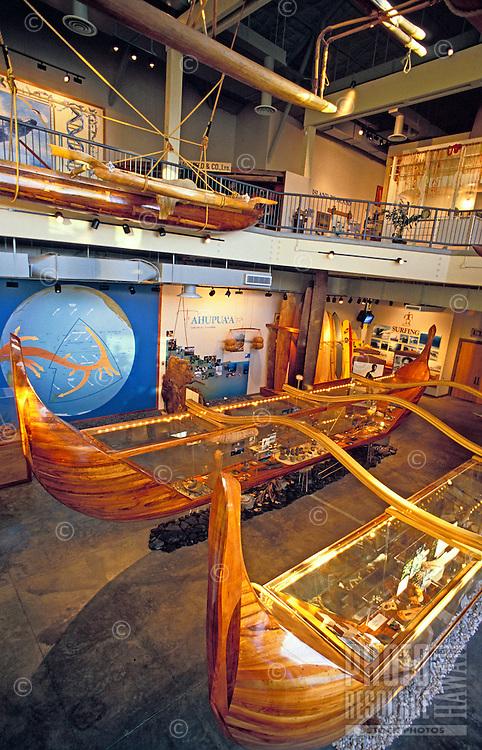 Interior view of Hawaii Maritime Center