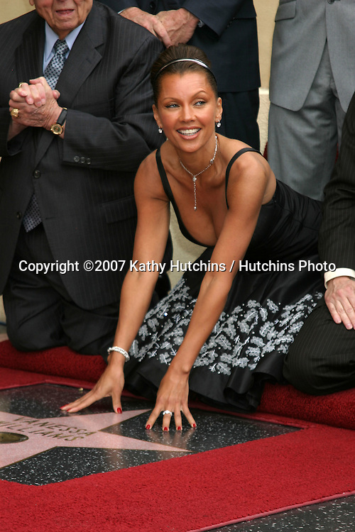 Vanessa L. Williams.Vanessa Williams receives a star on the Hollywood Walk of Fame.Los Angeles, CA.March 19, 2007.©2007 Kathy Hutchins / Hutchins Photo...