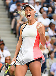Caroline Wozniacki (DEN) defeated Madison Keys (USA) 6-3, 6-4