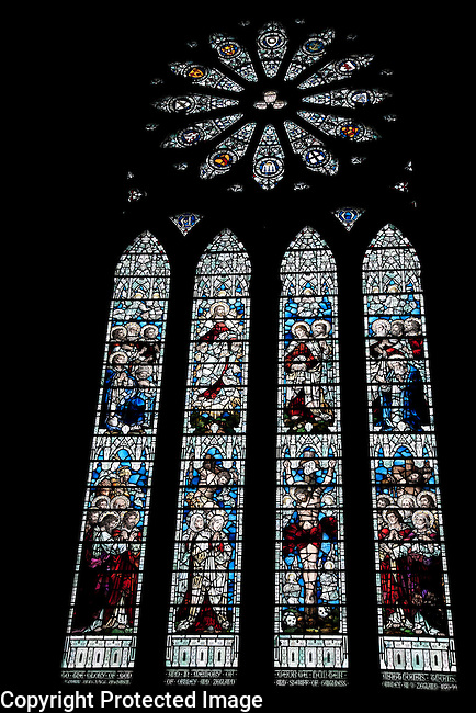 Kirkwall Cathedral on the Orkney Islands, Scotland