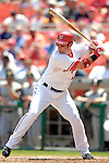 7 June 2007: Washington Nationals outfielder Ryan Church in action against the Pittsburgh Pirates at RFK Stadium in Washington, DC. The Pirates defeated the Nationals 3-2 in the third game of their 3-game series...Mandatory Credit: Ed Wolfstein Photo