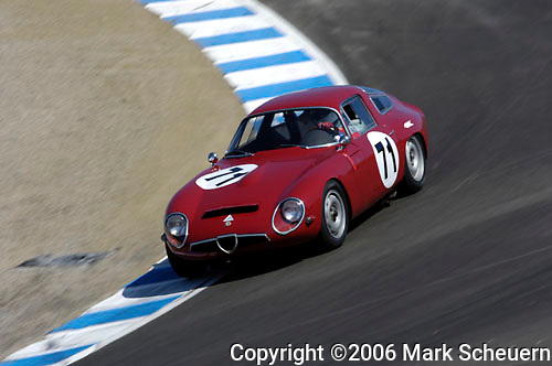 33rd Rolex Monterey Historic Races, 2006<br /> <br /> Please contact me for the full-size image<br /> <br /> For non-editorial usage, releases are the responsibility of the licensee.